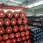 API 5L, API 5CT, ASTM A106 / A53, DIN 2391, EN10305, EN10210 Tubo in acciaio senza saldatura in lega di carbonio
