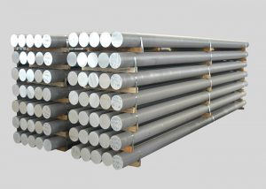 1080,2A11,3003,4A11,5754,6082,7A05 Lega Barra in alluminio