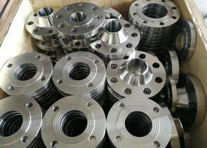 Flangia in lega di alluminio