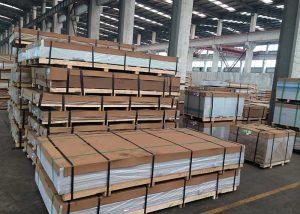 1050,3003,5052,5754,7075,8011 Piastra / foglio di alluminio in lega
