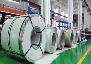 321 Bobina in acciaio inossidabile 1.4541 / X6CrNiTi18-10