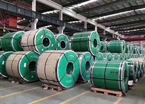 Bobina in acciaio inossidabile con ASTM JIS DIN GB